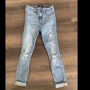 Hollister high rise jeans legging